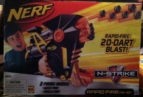 (NERF - N-Strike - RAPID FIRE DART BLASTER AS-20)