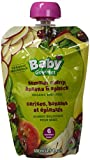 Baby Gourmet Summer Cherry Banana & Spinach Pack of 12