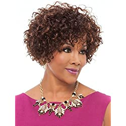 Vivica A Fox HH-Whitney Premium Human Hair Pure Stretch Cap Wig, 1, 10.9 Ounce