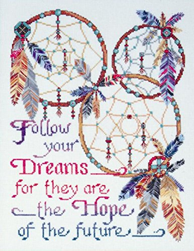 Design Works Counted Cross Stitch kit - Dreamcatcher (Native Impression Art American)