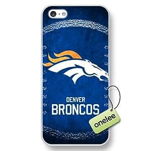 MEIMEINFL Denver Broncos Team Logo iphone 6 4.7 inch Transparent Hard Plastic Case Cover - TransparentMEIMEI