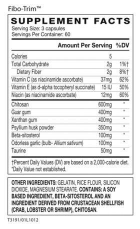 AdvoCare Fibo-Trim Multinutrient and Fiber Supplement Appetite Control