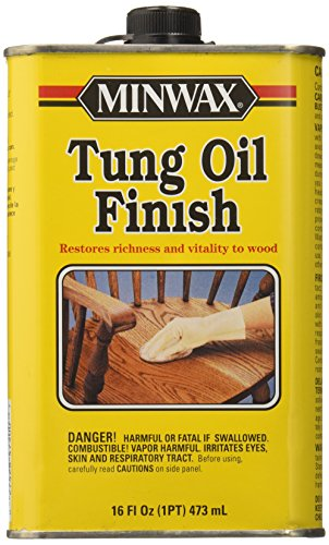 Minwax 47500000 Tung Oil Finish, pint (Tung Oil Wax)