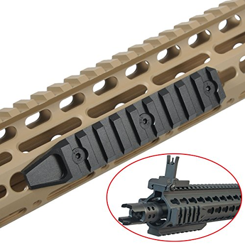AIMTIS Keymod Rails Section For HandGuard System 9 Slots Picatinny Rail Mount