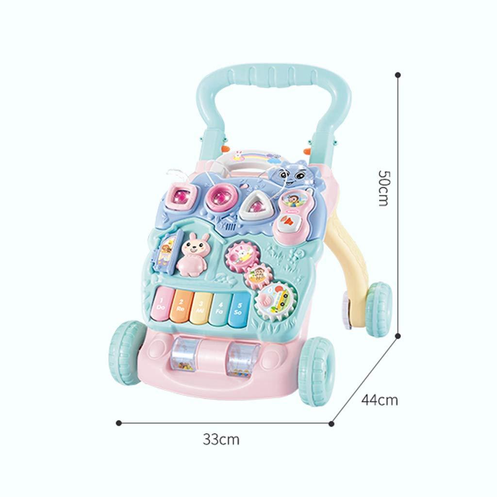 Andador de bebe Trolley para niños Los niños aprenden a Caminar ...