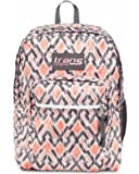 "Trans By JanSport 17"" SuperMax Backpack - Grey, Grey Stripe"