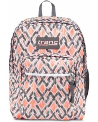 "Trans By JanSport 15"" SuperMax Backpack - Grey, Grey Stripe"
