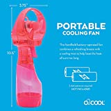 O2COOL Deluxe Misting Raspberry Personal