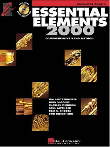 Essential Elements 2000 Percussion Book - Essential Elements with EEI Conductor Book 2 (Essential Elements 2000 Comprehensive Band Method)