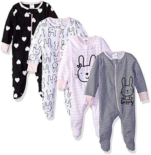 Gerber Baby Girls 4 Pack Sleep product image