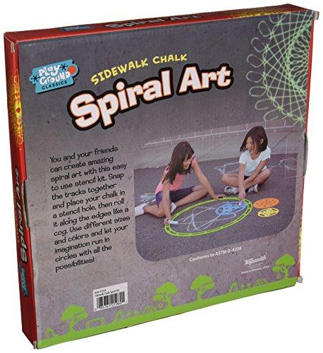 Toysmith Sidewalk Spiral Art