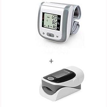 Tensiómetro de Muñeca Automático +Pulsioximetro de dedo (Un conjunto) , A3: Amazon.es: Deportes y aire libre