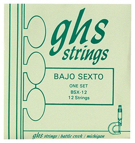 GHS Bajo Sexto 12-String Guitar String (Bajo Sexto Guitar String)