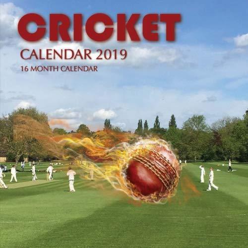 Cricket Calendar 2019: 16 Month Calendar