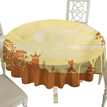 Amazon.com: small round tablecloth 70 Inch Japanese ...