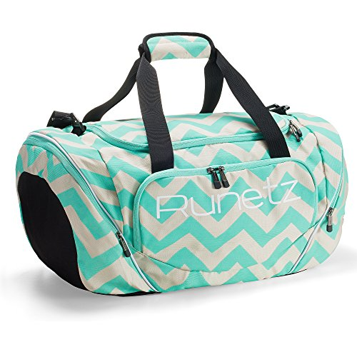 - Runetz - Gym Bag for Women and Men - Ideal Workout Overnight Weekend Bag - Sport Duffle Bag - Large Size, 20