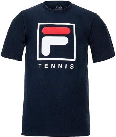 Fila Men's F-Box Tennis Short Sleeve Crewneck T-Shirt