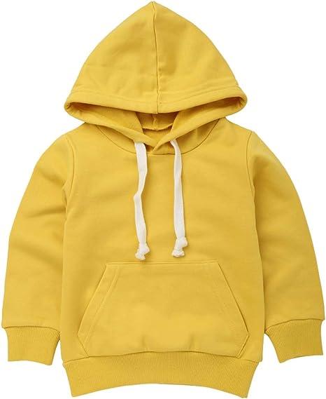 Kaiyei Sudaderas para niños Niñas Niños Suéter de algodón ...