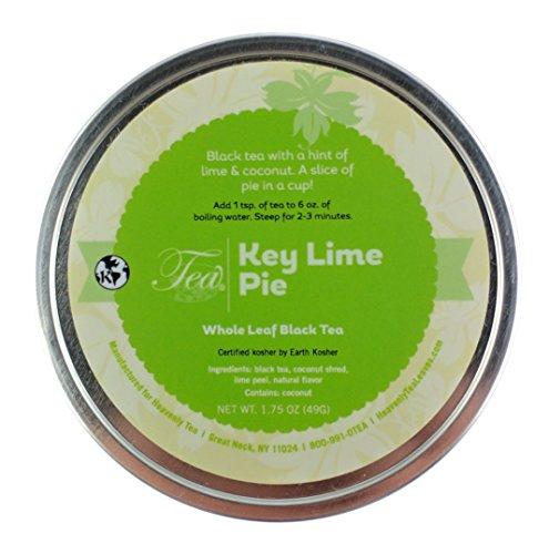 Heavenly Tea Leaves Organic Tea, Organic Key Lime Pie, 1.75 Ounce ()