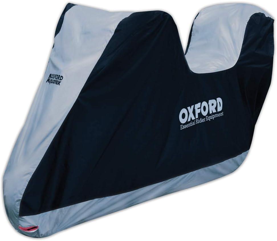 Funda Protectora para Moto de Oxford Aquatex, Color Azul, XL