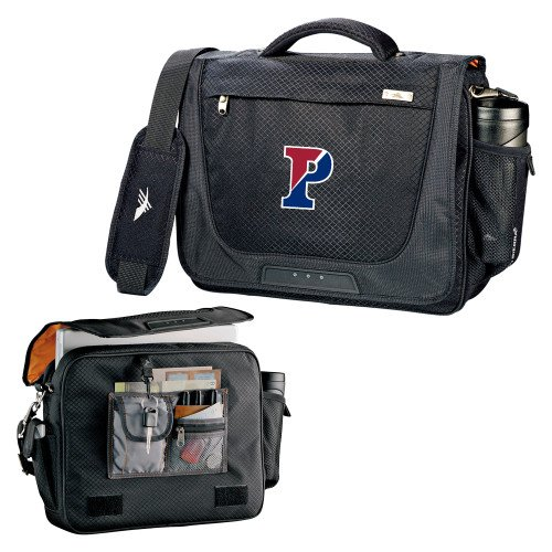 Penn High Sierra Black Upload Business Compu Case 'Split P' by CollegeFanGear