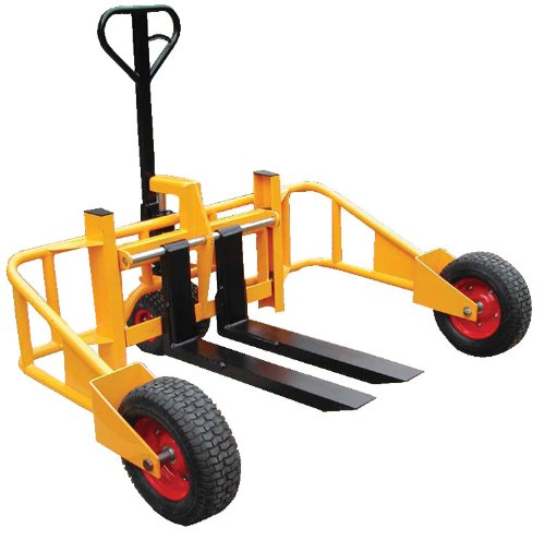 Vestil ALL-T-2 Light Duty All Terrain Pallet Truck, 2000 lbs Capacity, 32'' Length x 9-1/2'' - 26'' Width Fork by Vestil