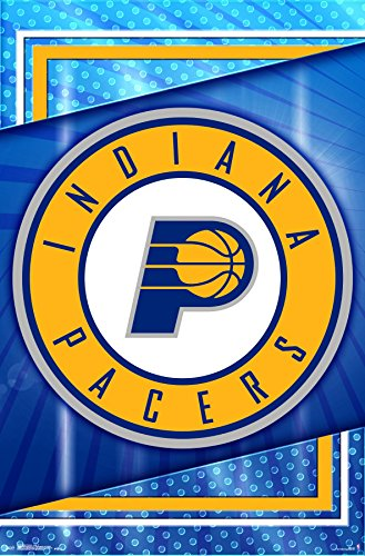 Trends International Indiana Pacers - Logo Wall Poster, 22.375
