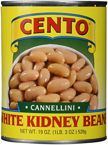 Cento White Kidney (Cannellini) Beans, 19 Ounce Cans (Pack of 12)