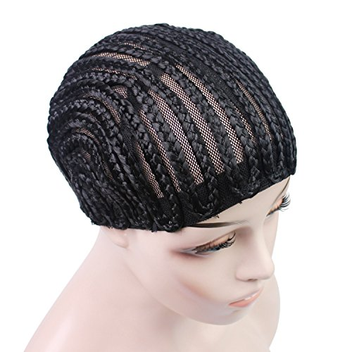 Beauty : Braided Cap Made for Crochet Braids or Hair Weaves Crochet Braided Wig Caps in Cornrow Sew Hair for Making Wigs Easier Sew In Caps Making Wig