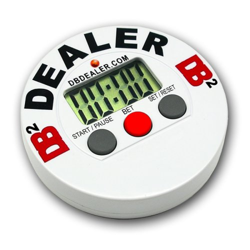 Trademark Poker Digital Dealer Button Poker Timer (Blind Timer)