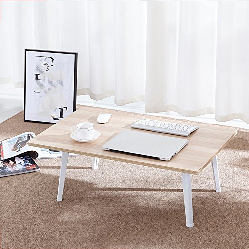 PM Folding tables Tables Foldable Laptop Table, Bedside Table Laptop, Child Breakfast Tray, Portable Bar Table, Outdoor Table For Camping & Picnic, Notebook Stand Sofa Table,Study Desk (Color : C) (Bar Table Breakfast Wooden)