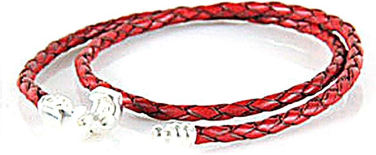 pandora cuoio rosso