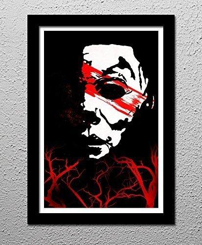 Halloween Horror Movie Michael Myers - Original Minimalist Art Poster Print -