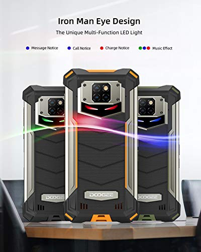 "Telephone Portable Incassable, DOOGEE S88 Pro Smartphone Incassable 4G, 10000 mAh,6.3""FHD, 6Go+128Go, 21MP + 16MP Caméra… 3"