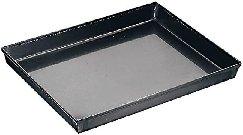 Paderno World Cuisine 25 5 By 17 75 Inch Blue Steel Baking Sheet Kitchen Dining