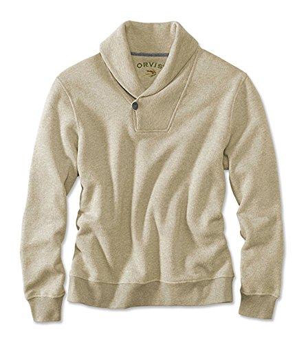 Orvis Men's Birdseye Shawl Pullover, Large