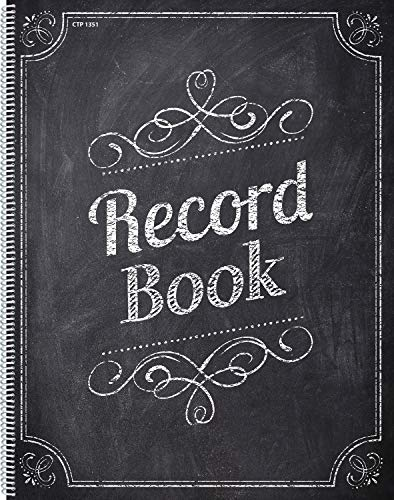 Creative Teaching Press Chalk It Up! Record Book, Black/White (1351)