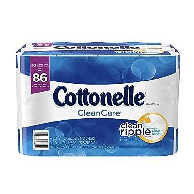 Cottonelle CleanCare Family Roll Toilet Paper, Bath Tissue