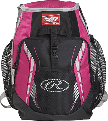 Rawlings R400-NPK Players Backpack - Neon - Softball Top Players