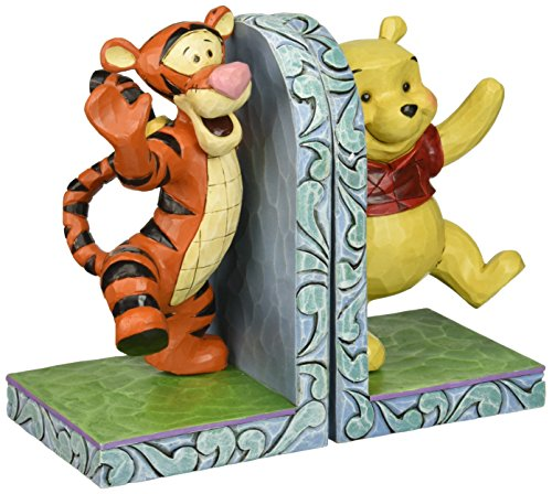 Department 56 Disney Traditions by Jim Shore Pooh and Tigger Hugging Bookends 6.75