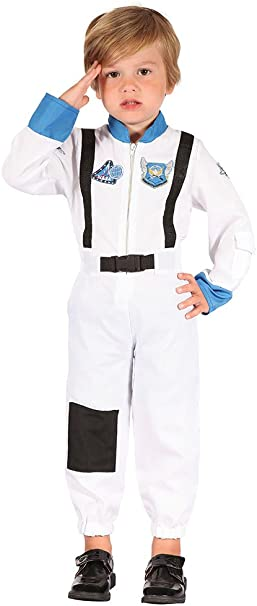 Bristol Novelty CC065 - Disfraz de Astronauta para niño, Talla XS ...