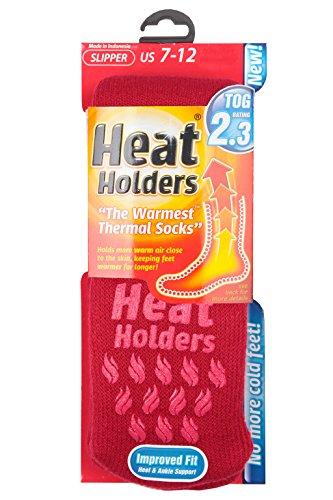 Uni Chaussettes 45 Homme 11 Multicolore Basses Rouge Heat Holders Bigarré 6 39 fxqtwn5vaC
