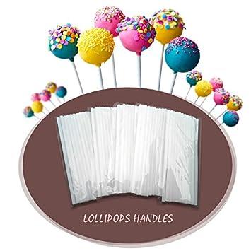 Zoomy Far: 100 palitos de chupete para tartas, paletas de ...