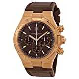 Vacheron Constantin Overseas Brown Dial Chronograh Mens Watch 49150000R-9338