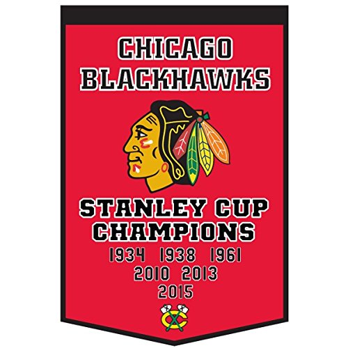 Winning Streak NHL Chicago Blackhawks Dynasty Banner