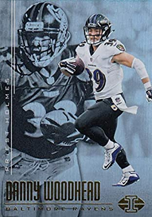 22283b50e Amazon.com  Football NFL 2017 Panini Illusions  80 Danny Woodhead Priest  Holmes  80 NM+ Ravens  Collectibles   Fine Art