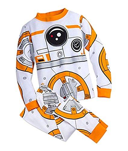 Price comparison product image Disney Store BB-8 Star Wars Costume Pajamas PJ PALS for Kids,  10