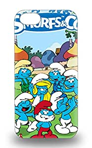 New Diy Design American The Smurfs For Iphone 5/5s 3D PC Soft Cases Comfortable For Lovers And Friends For Christmas Gifts ( Custom Picture iPhone 6, iPhone 6 PLUS, iPhone 5, iPhone 5S, iPhone 5C, iPhone 4, iPhone 4S,Galaxy S6,Galaxy S5,Galaxy S4,Galaxy S3,Note 3,iPad Mini-Mini 2,iPad Air )