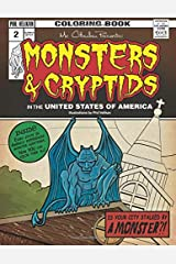 Mr. Cthulhu Presents: Monsters and Cryptids in the United States of America: Coloring Book (Mr. Cthlhu Presents:) (Volume 2) Paperback