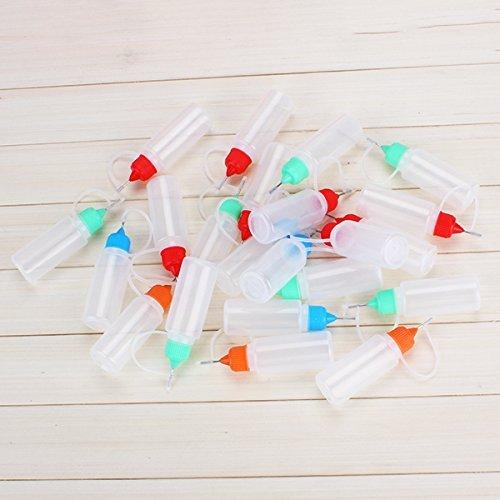 14 opinioni per Vati PET / LDPE vuota contagocce bottiglia di plastica 15ml Solventi Squeezable